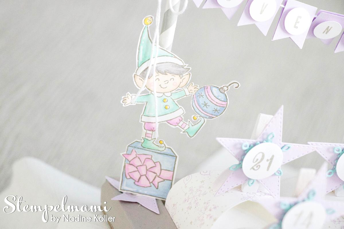 Stampin Up Mein Adventskalender Sternenglanz Stempelmami 3