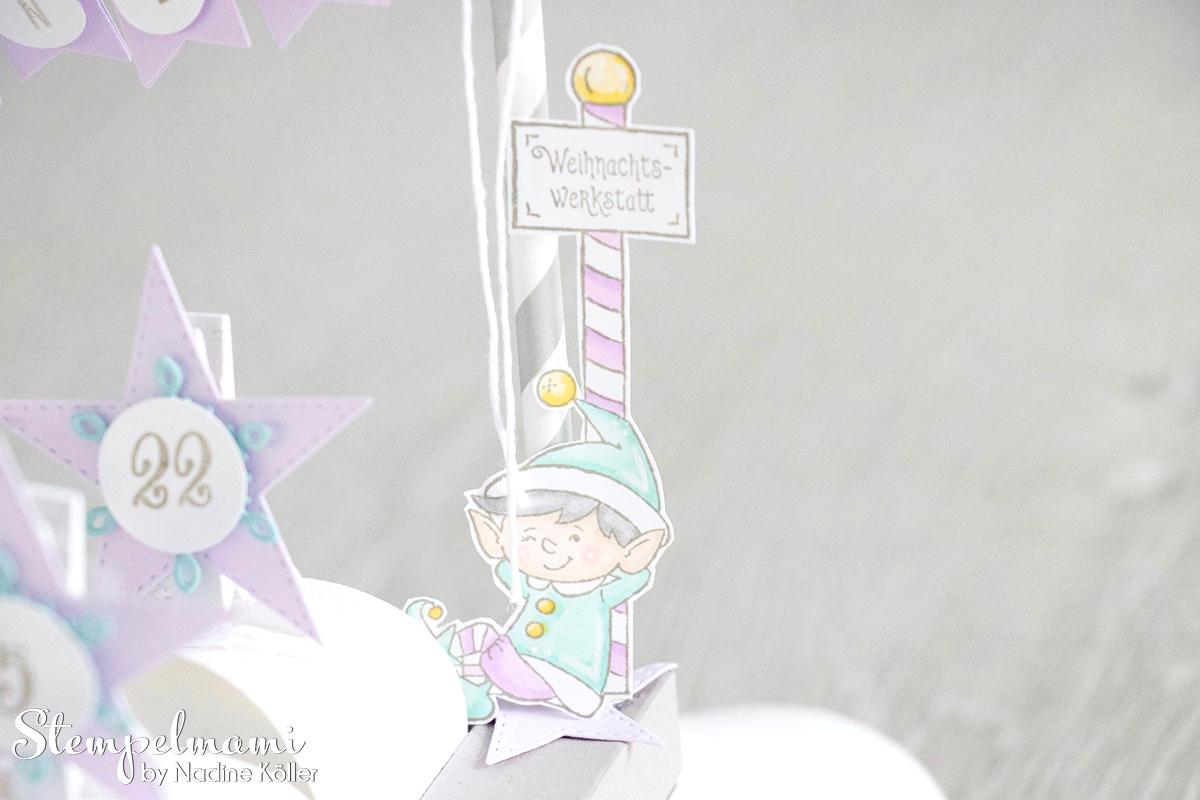 Stampin Up Mein Adventskalender Sternenglanz Stempelmami 4