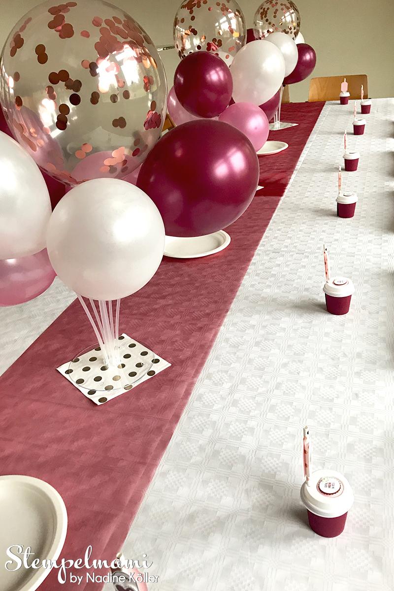 Stampin Up Gastgeschenk Kaffeebecher als Partydekoration Alles auf Anhang Partydeko Goodie Stempelmami 4