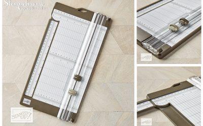 Neuer Papierschneider