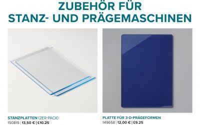 Stanzplatten wieder erhältlich