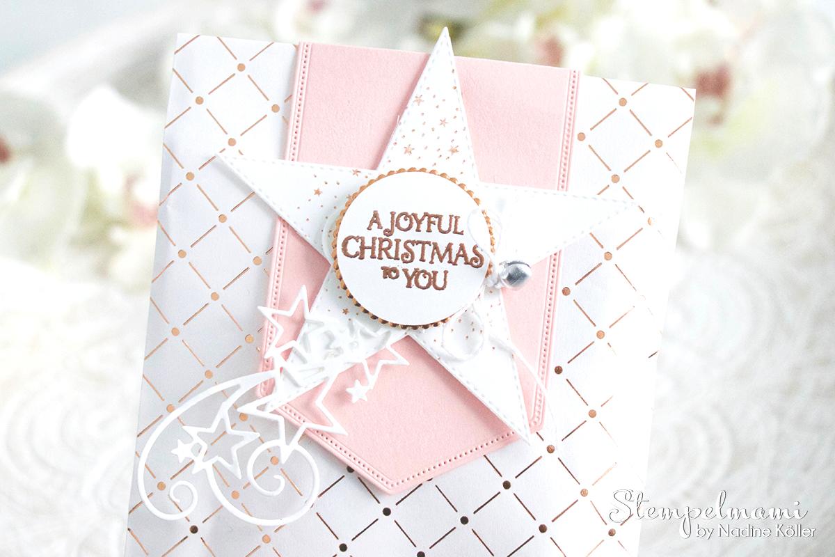 Stampin Up Video Anleitung Swap fuer die Onstage in Dortmund Stempelmami Geschenktuete Puenktchen Flair in Kupfer Goodie Gift Bag Weihnachten basteln 1
