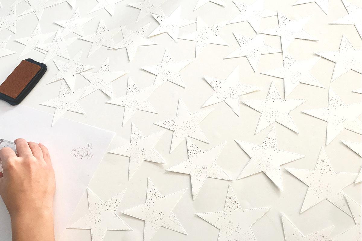 Stampin Up Video Anleitung Swap fuer die Onstage in Dortmund Stempelmami Geschenktuete Puenktchen Flair in Kupfer Goodie Gift Bag Weihnachten basteln 5