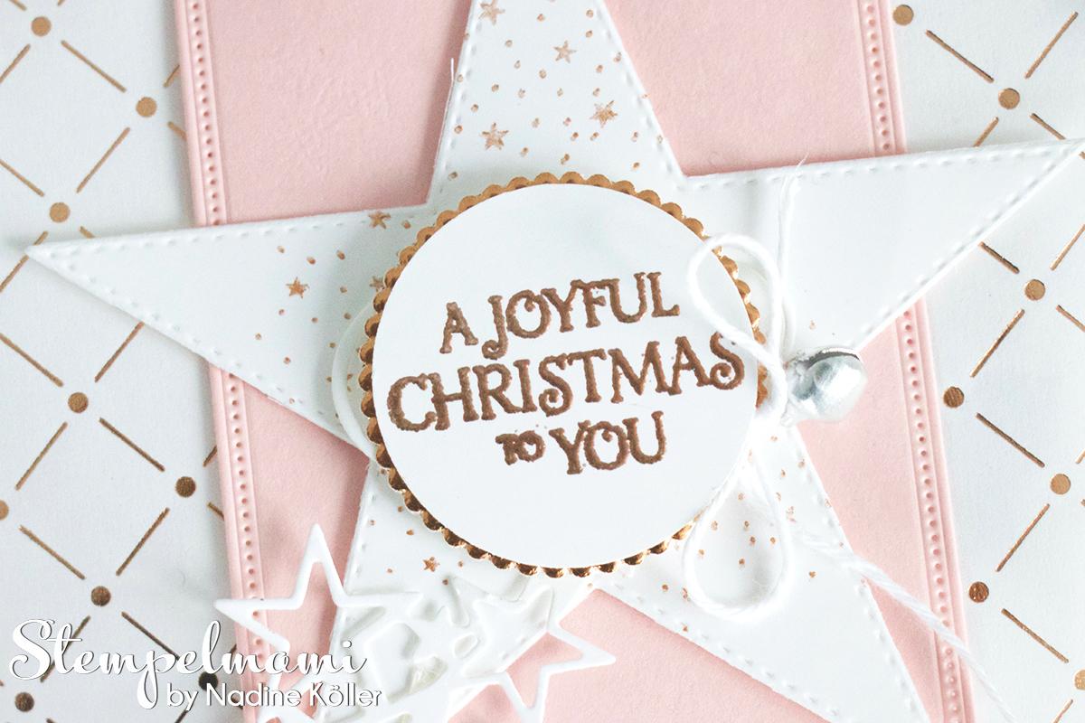 Stampin Up Video Anleitung Swap fuer die Onstage in Dortmund Stempelmami Geschenktuete Puenktchen Flair in Kupfer Goodie Gift Bag Weihnachten basteln 6