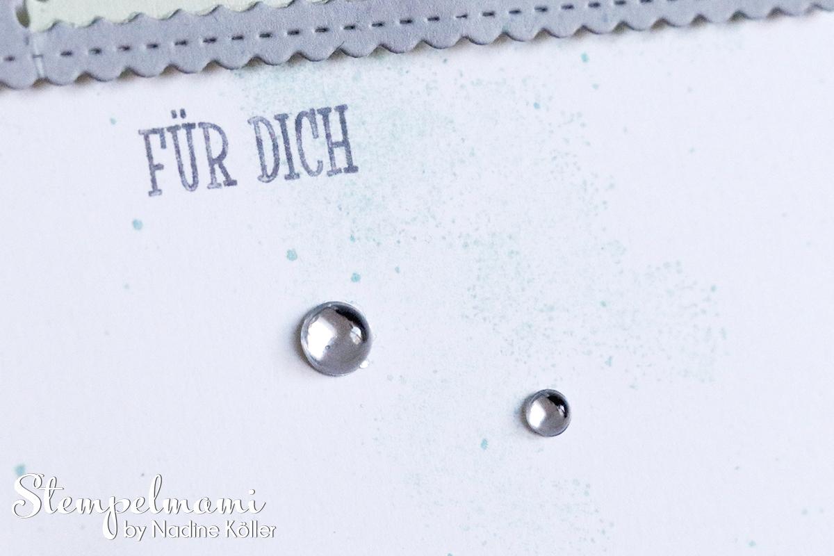 Grusskarte Glueckskaefer Spiegeltechnik Mirrow Technic Stempelmami 4