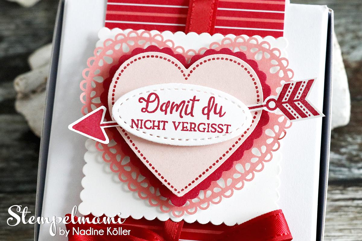 Mini Pizzaschachtel Herzlich Schachtel Hochzeitstag Geschenk zum Hochzeitstag Stempelmami 3