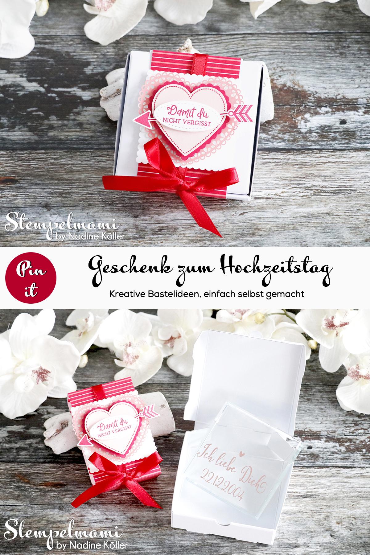 Mini Pizzaschachtel Herzlich Schachtel Hochzeitstag Geschenk zum Hochzeitstag Stempelmami 5