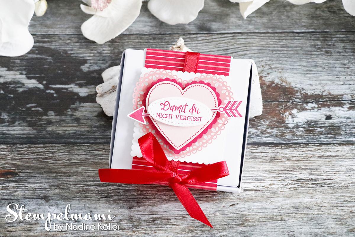 Mini Pizzaschachtel Herzlich Schachtel Hochzeitstag Geschenk zum Hochzeitstag Stempelmami