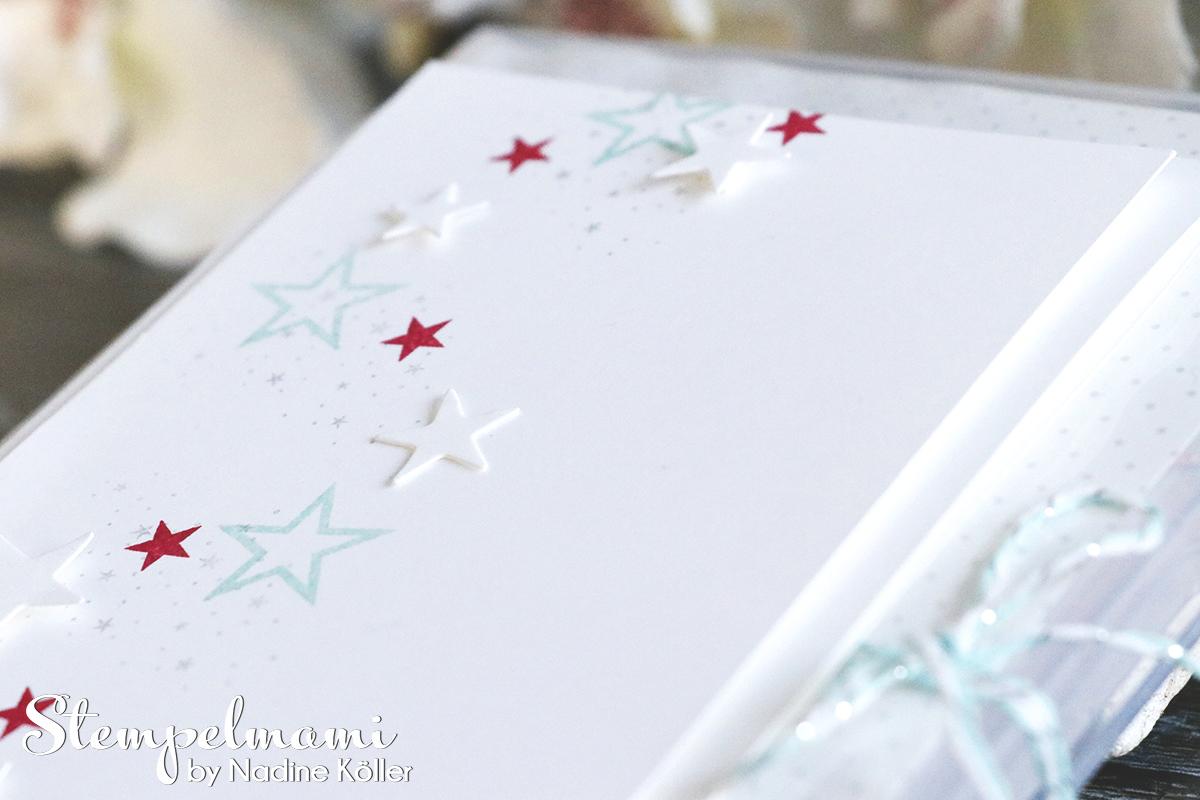 Stampin Up Weihnachtsgeschenke Teamgeschenke Teamgeschenk Weihnachten Weihnachtskarte Sternenglanz Stempelmami 3