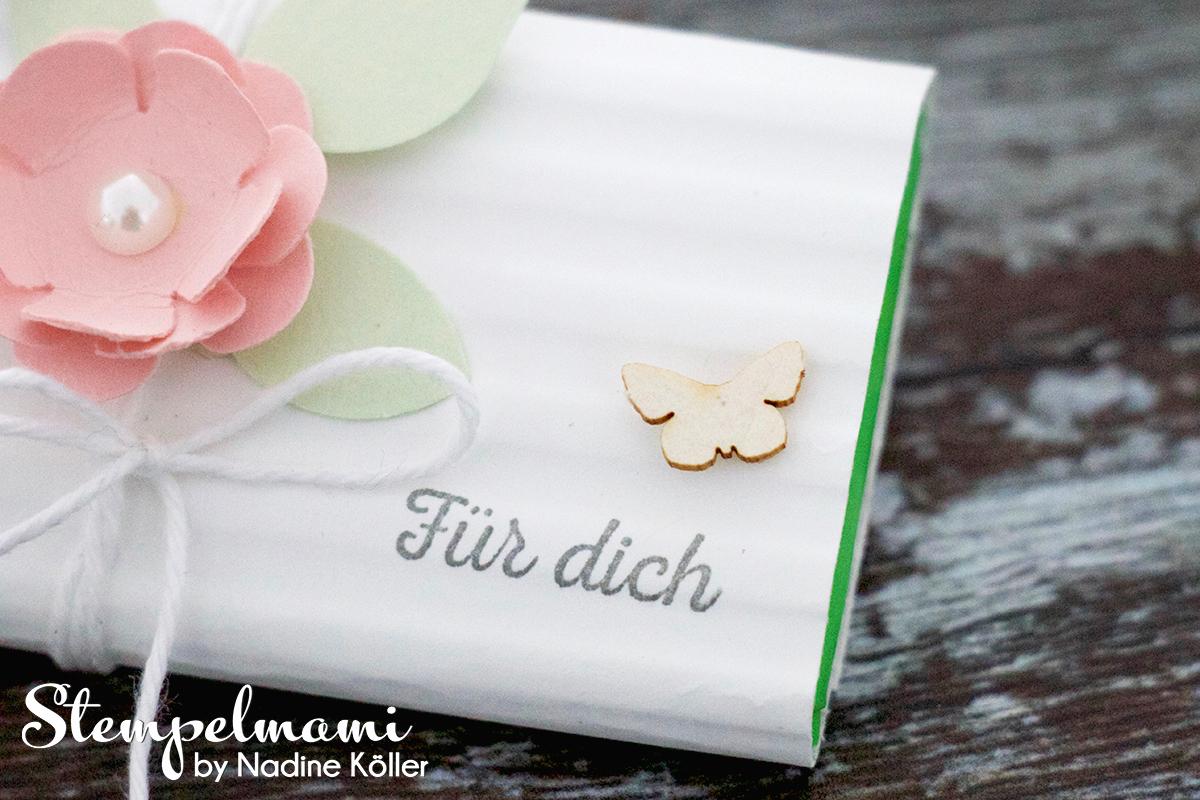Stampin Up Goodie Fuer Dich Schokoladenverpackung Huebsch verpackt Stempelmami 3