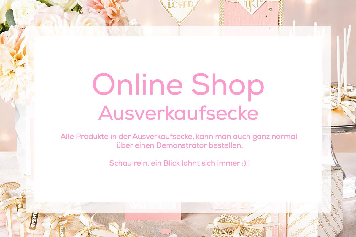 Stampin Up Online Shop Ausverkaufsecke Stempelmami
