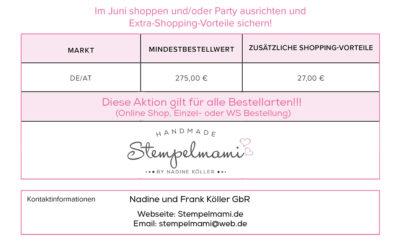 27 Euro mehr Shoppingvorteile im Juni