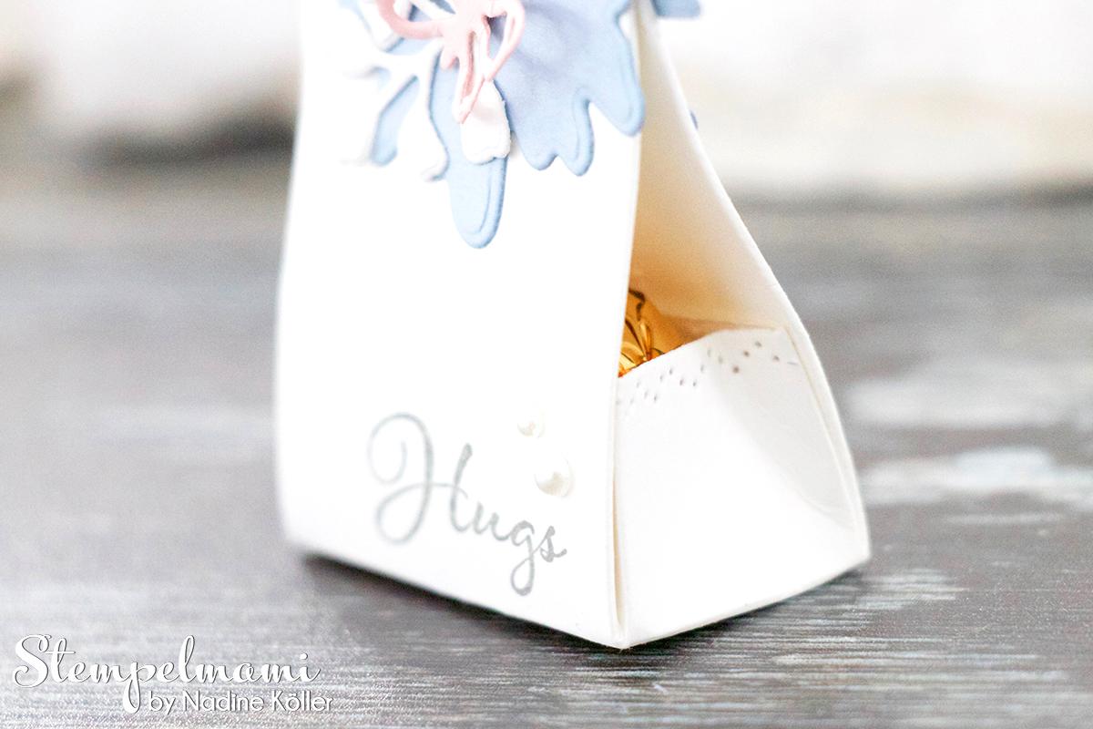 Stampin Up Anleitung Mini Goodie als Gastgeschenk oder Give Away Gedanken der Natur Positive Thoughts Stempelmami Youtube 6