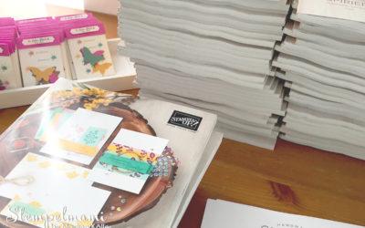 Stampin' Up! Kataloge unterwegs