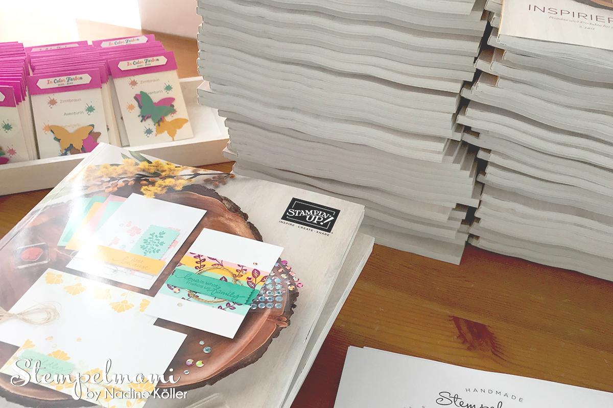 Stampin Up Kataloge unterwegs Finde das goldene Bonbon Stempelmami 2