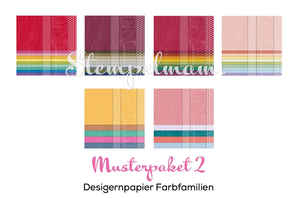 Stampin Up Designerpapier Musterpaket Designerpapier Musterpaket 2 Stempelmami