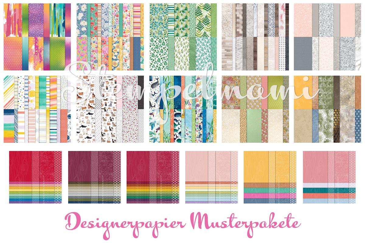 Stampin Up Designerpapier Musterpaket Designerpapier Musterpaket alle Stempelmami