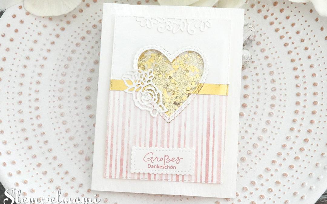 Shaker Spinnerkarte incl. 23 kreative Kartenideen