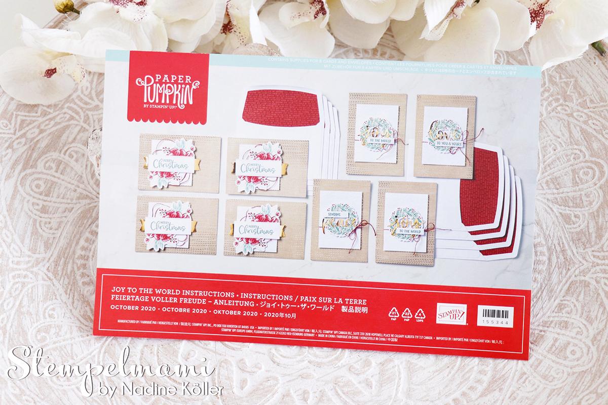 Stampin Up Paper Pumkin Feiertage voller Freude 2
