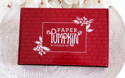 Paper Pumkin Feiertage voller Freude