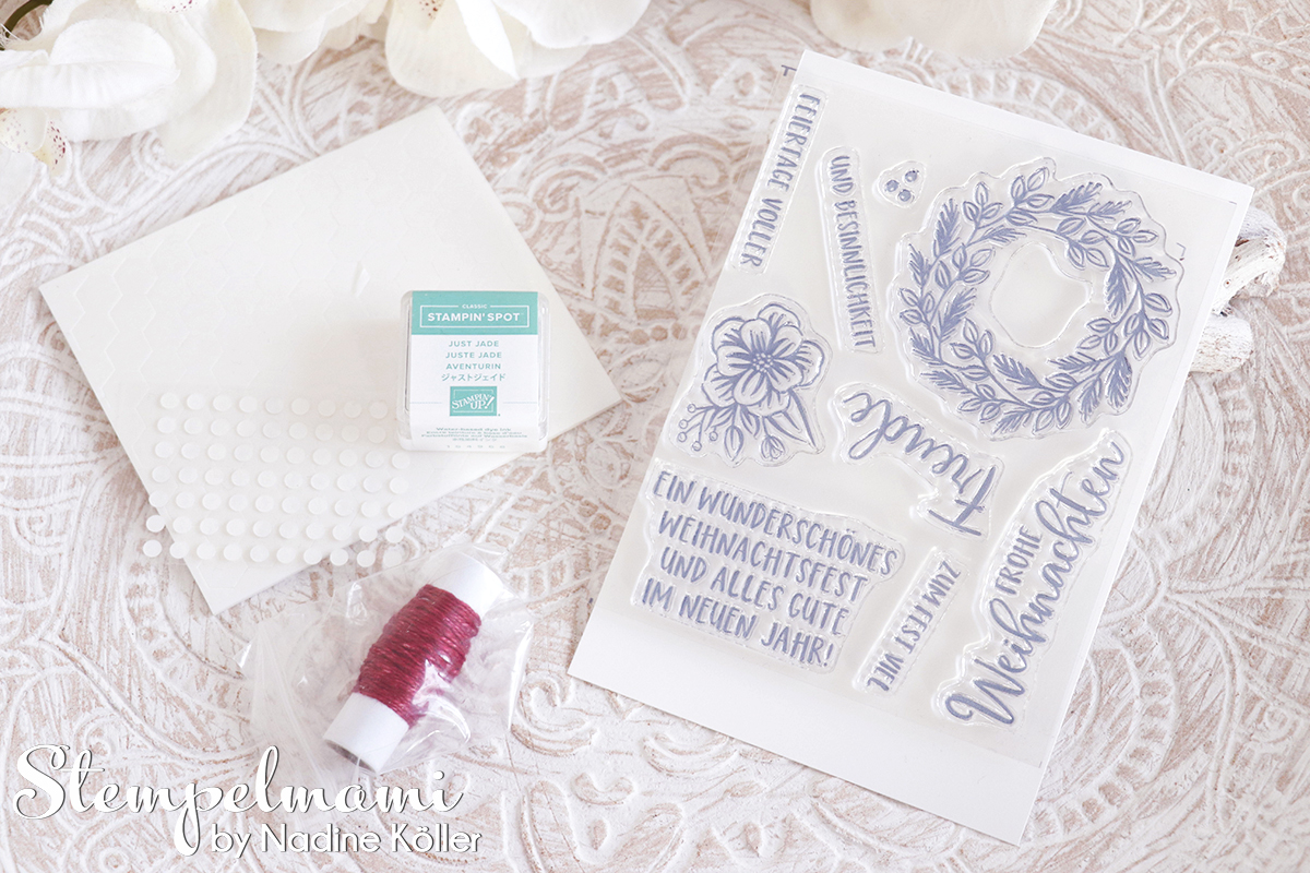 Stampin Up Paper Pumkin Feiertage voller Freude 5