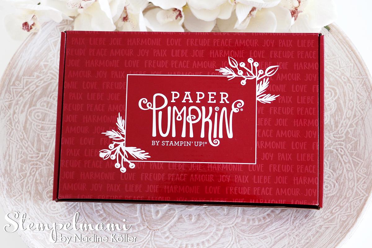 Stampin Up Paper Pumkin Feiertage voller Freude