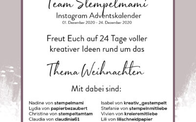 Instagram Adventskalender Team Stempelmami