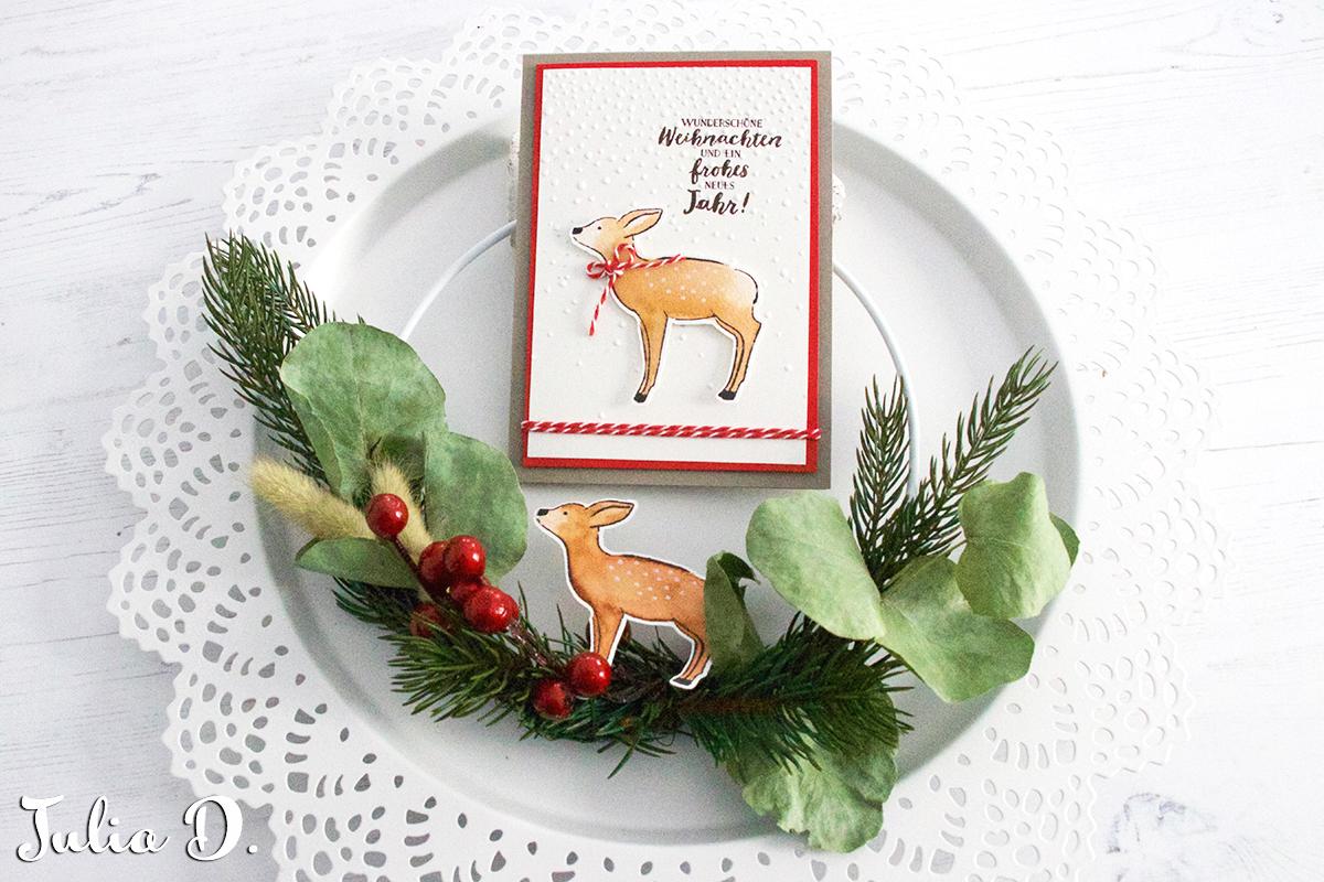 Frohes neues Jahr und Eure Weihnachtspost Stempelmami 2