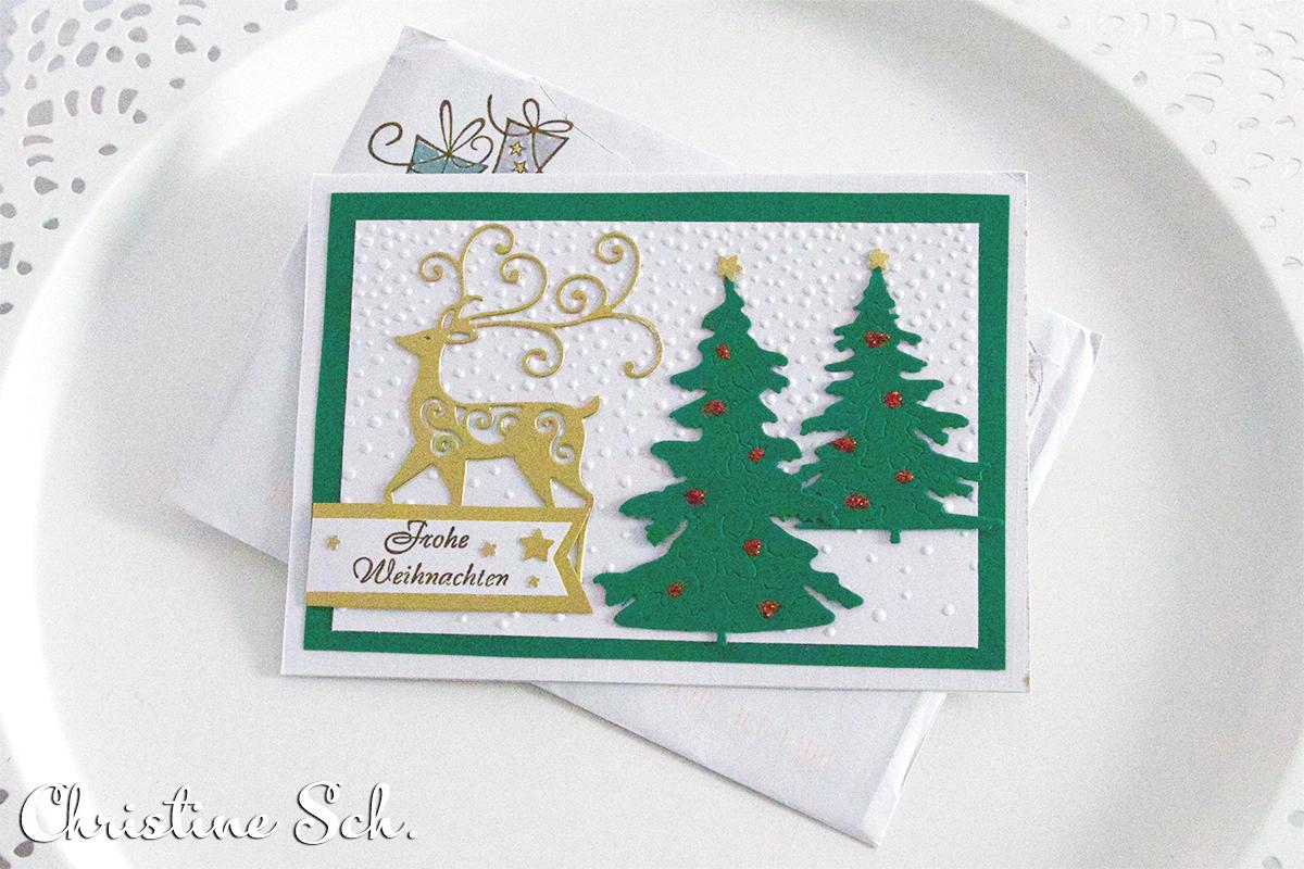 Frohes neues Jahr und Eure Weihnachtspost Stempelmami 21