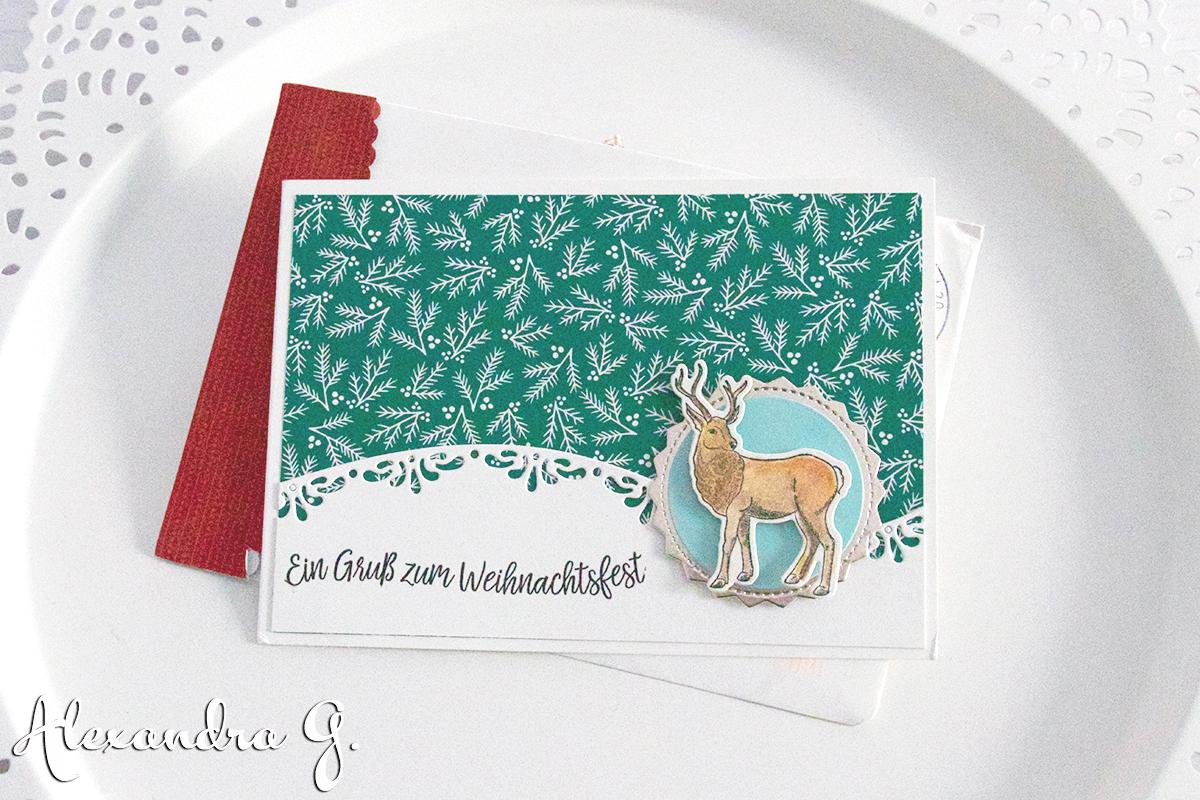 Frohes neues Jahr und Eure Weihnachtspost Stempelmami 26