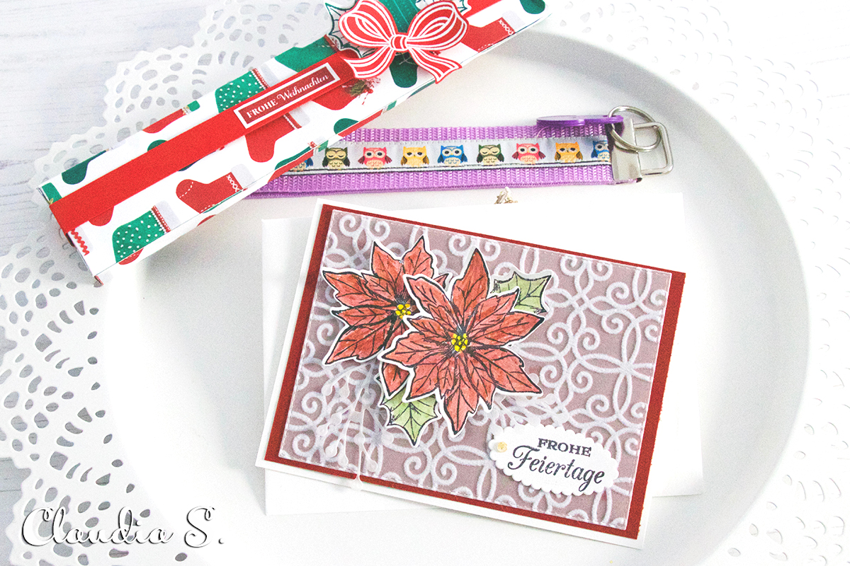 Frohes neues Jahr und Eure Weihnachtspost Stempelmami 38