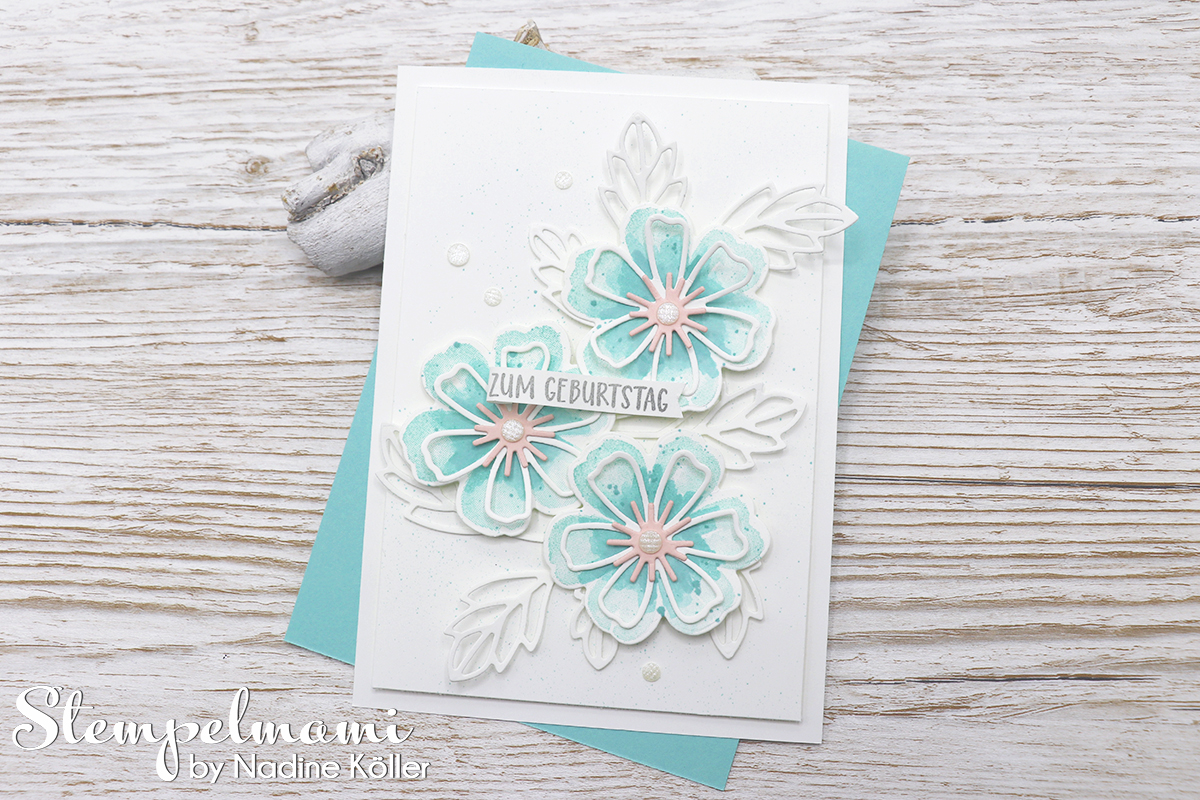 Stampin Up Geburtstagskarte Blumen voller Freude Stempelmami 3