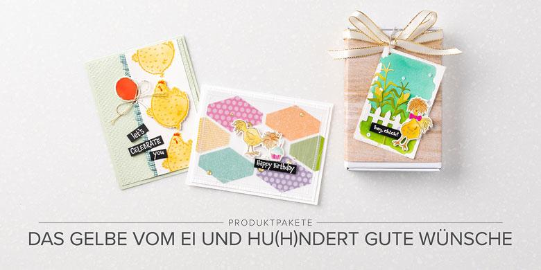 Stampin Up Aktion Das Gelbe vom Ei und Hu(h)ndert Gute Wuensche Stempelmami 7