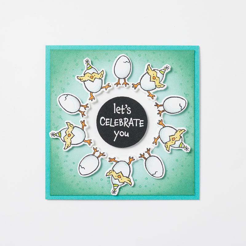 Stampin Up Aktion Das Gelbe vom Ei und Hu(h)ndert Gute Wuensche Stempelmami 9
