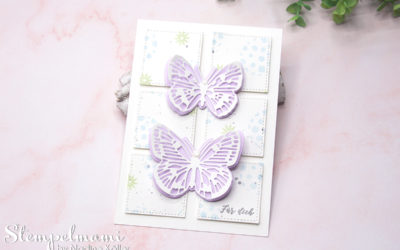 Geburtstagskarte Flügel voller Fantasie