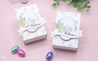 Leckereien Schachtel als Ostergeschenk