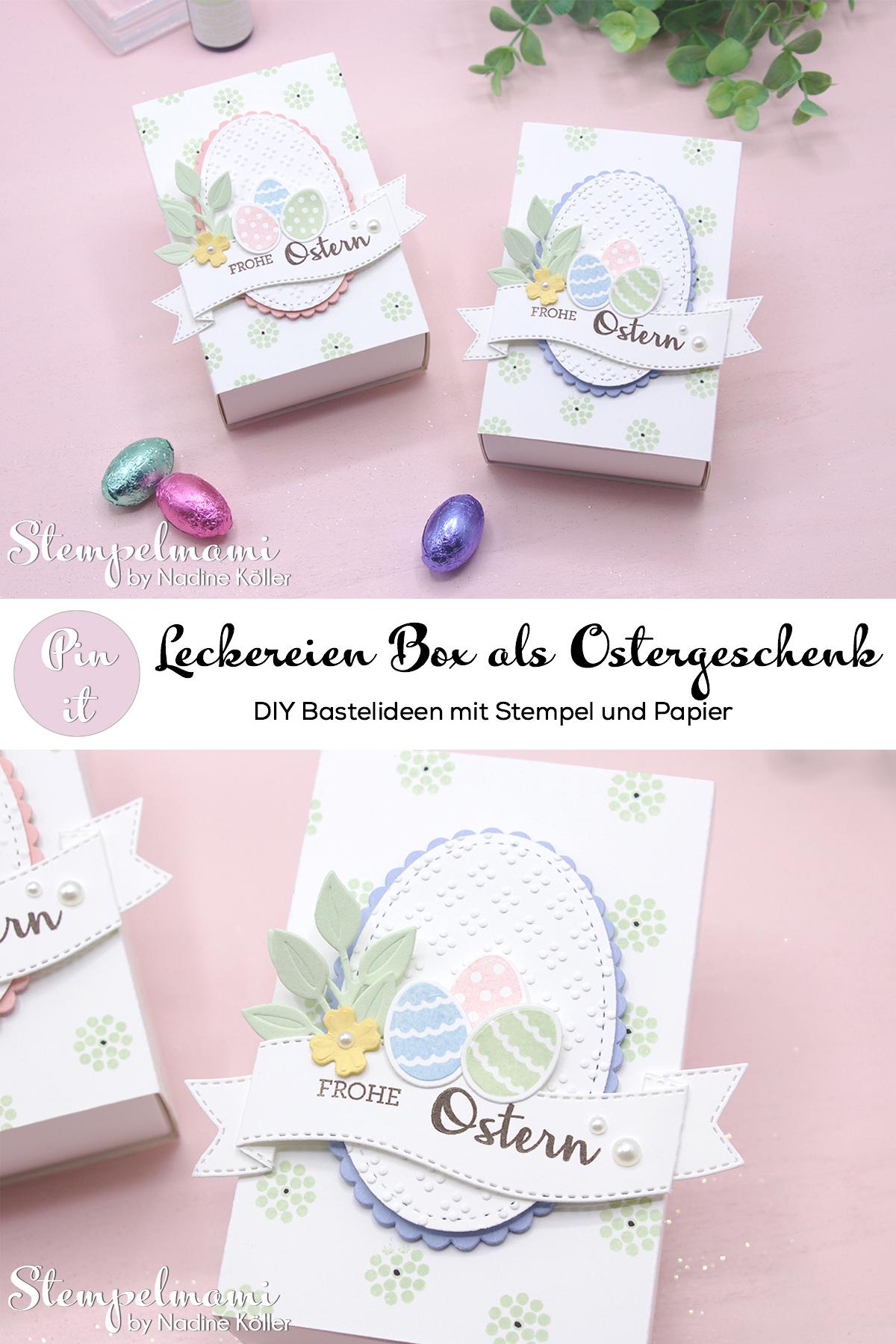 Stampin Up Leckereien Box als Ostergeschenk Ostergoodie Kreative Kraenze Stempelmami 2