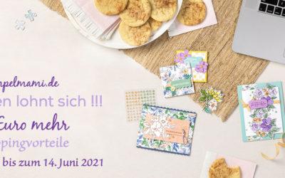 27 Euro Extra Shoppingvorteile von Mai bis Juni 2021