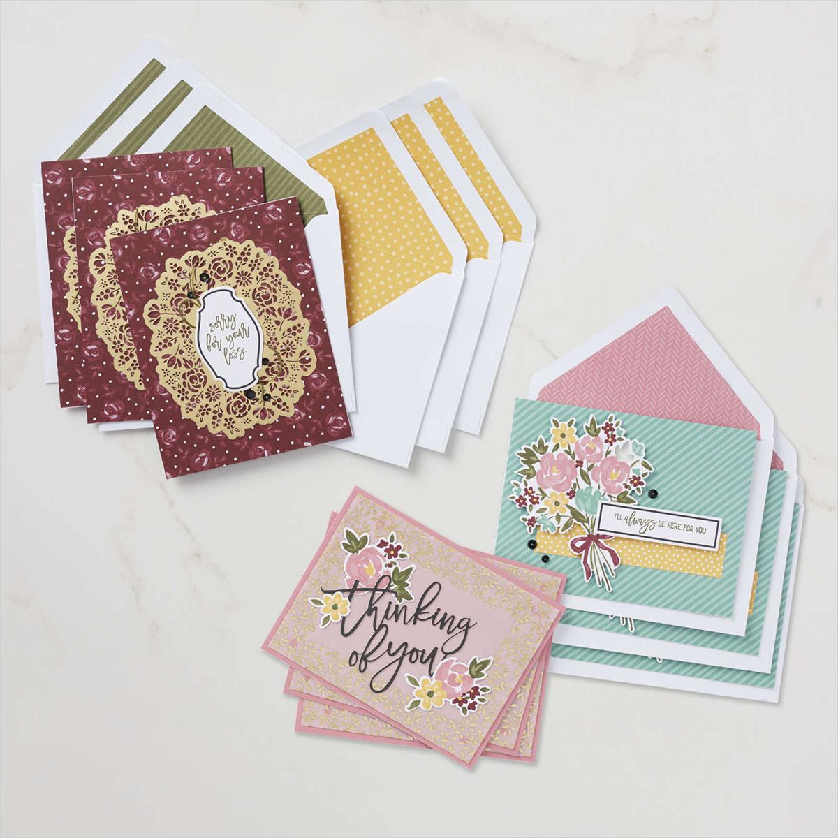 Stampin Up Paper Pumpkin Set Blumen der Freundschaft 8