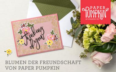 Stampin Up Paper Pumkin Set Blumen der Freundschaft