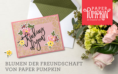 Stampin Up Paper Pumpkin Set Blumen voller Freundschaft 4