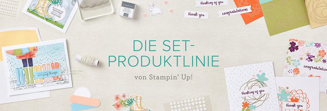 Neue Set-Produktlinie (Komplett-Sets) von Stampin' Up! ab Juni erhältlich