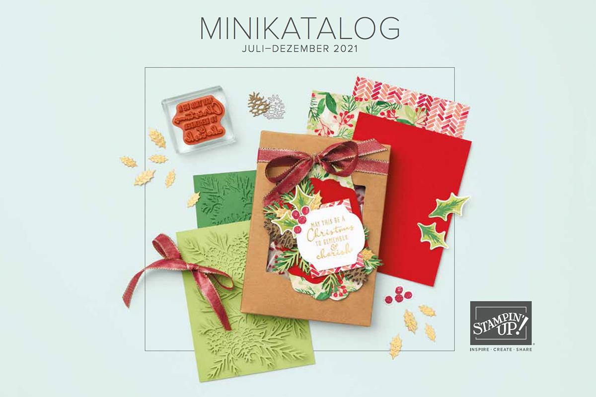 Stampin Up Herbst Winter Minikatalog 2021