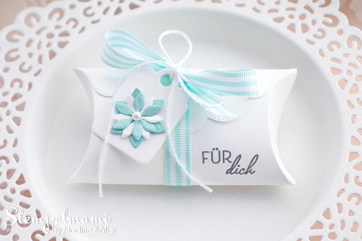 Stampin Up Goodie Kreative Kissenschachtel Pretty Pillowbox Stempelmami 2
