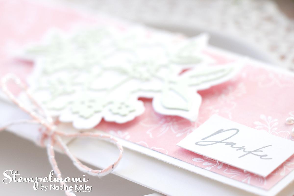 Stampin Up Gutschein Verpackung Handgemalte Blueten Papierfalter Kundengeschenk Stempelmami 1