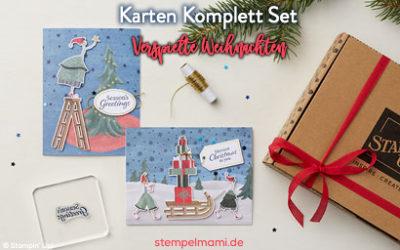 Stampin' Up! Karten Set Verspielte Weihnachten