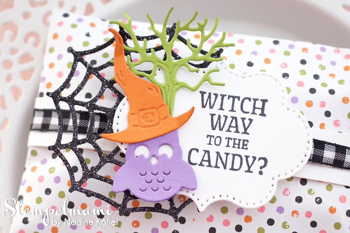 Stampin Up Video Anleitung Goodie fuer Halloween mit Frightfully Cute Stempelmami 3