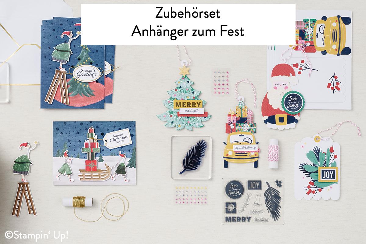 Neue Produktlinie Stampin Up Zubehoerset Anhaenger zum Fest Suessigkeiten Tueten zum Fest Stempelmami 6